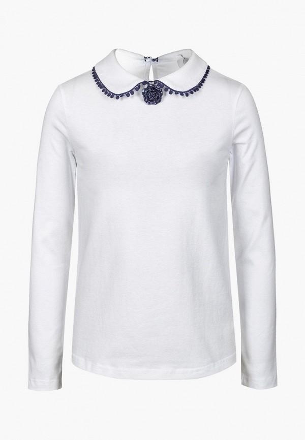 блузка nota bene для девочки, белая