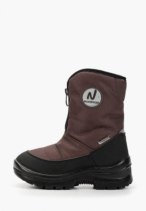 Дутики Nordman Nordman NO031ABGPFQ0 дутики снежные walkmaxx цвет коричневый
