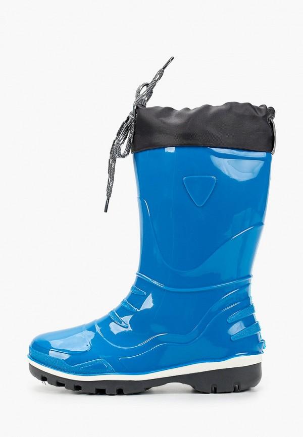 резиновые сапоги nordman для мальчика, синие