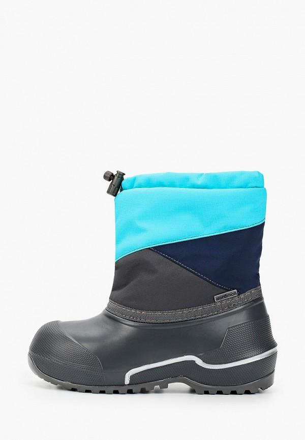 резиновые сапоги nordman для мальчика, голубые