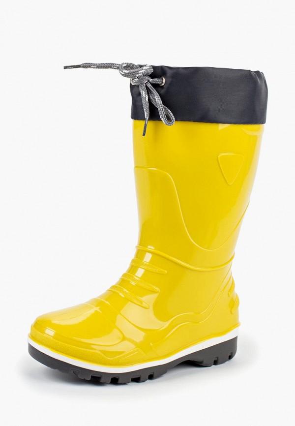 Купить Резиновые сапоги Nordman, NO031AGCKRT5, желтый, Осень-зима 2018/2019