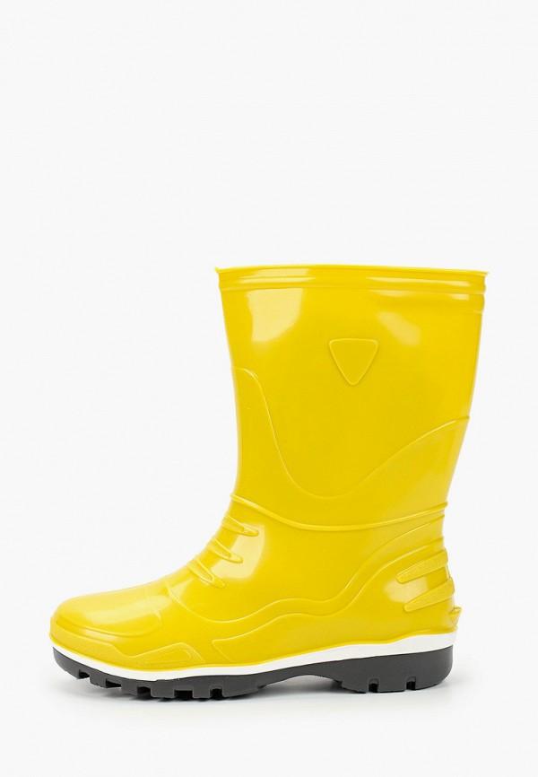 резиновые сапоги nordman малыши, желтые