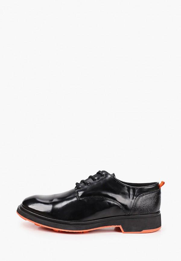 мужские туфли-дерби norberto costa, черные