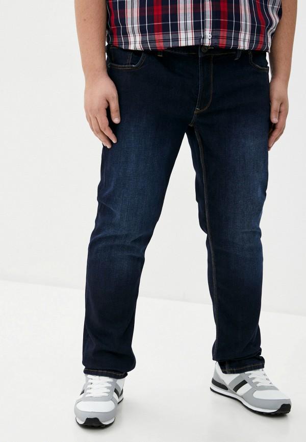мужские джинсы north 56-4, синие