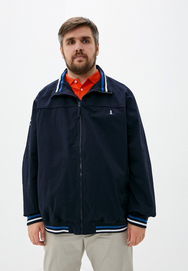 мужская куртка north 56-4, синяя