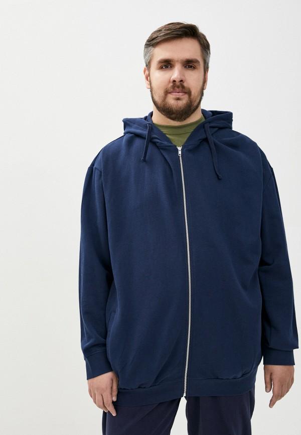 мужская толстовка north 56-4, синяя
