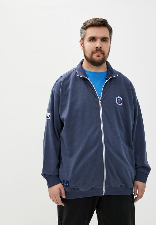 мужская олимпийка north 56-4, синяя