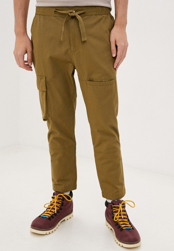 мужские брюки nordam, зеленые