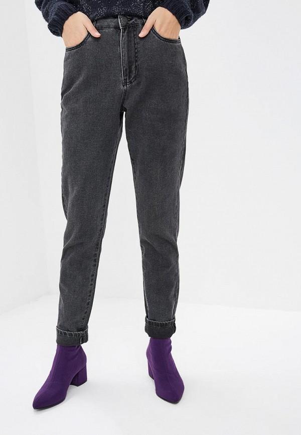 женские джинсы бойфренд noisy may, серые