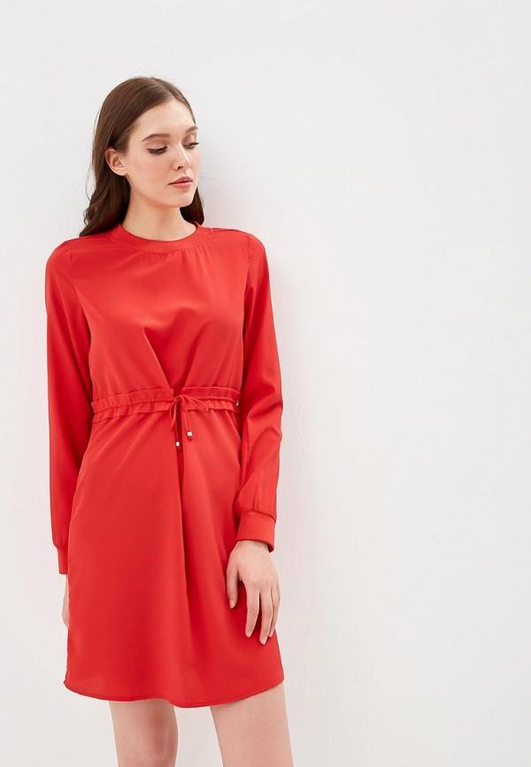 женское повседневные платье noisy may, красное