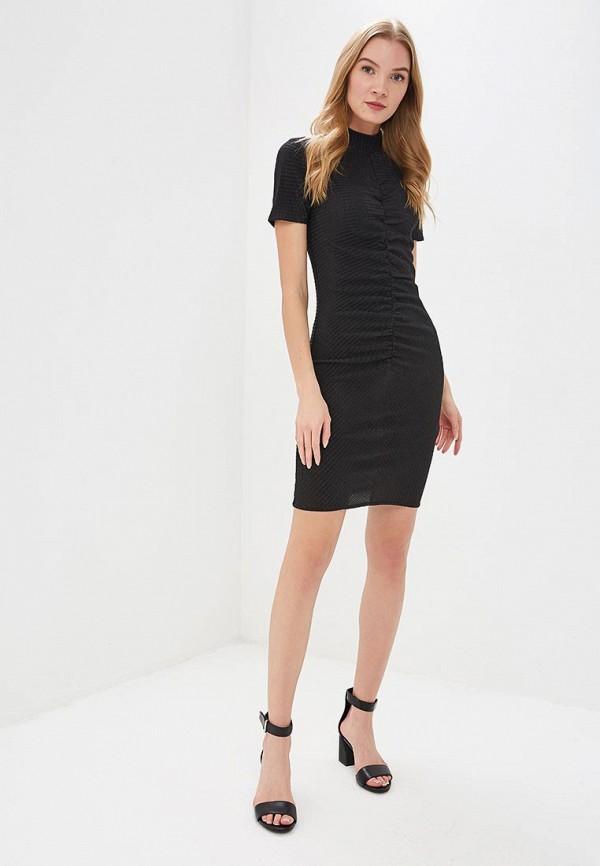 Фото 2 - женское платье Noisy May черного цвета