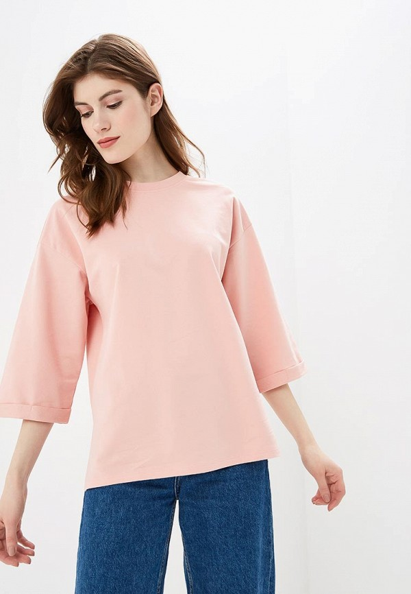 женская блузка noisy may, розовая