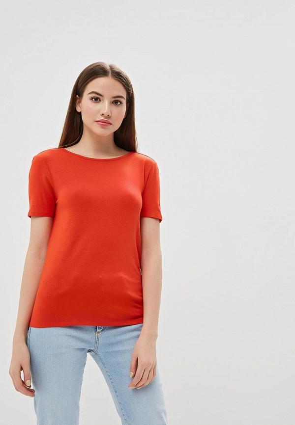 женская футболка noisy may, красная