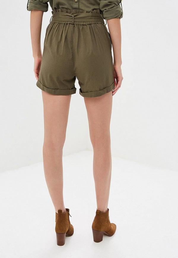 Фото 3 - женские шорты Noisy May цвета хаки