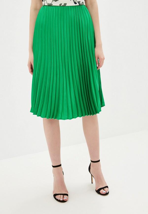 женская юбка noisy may, зеленая