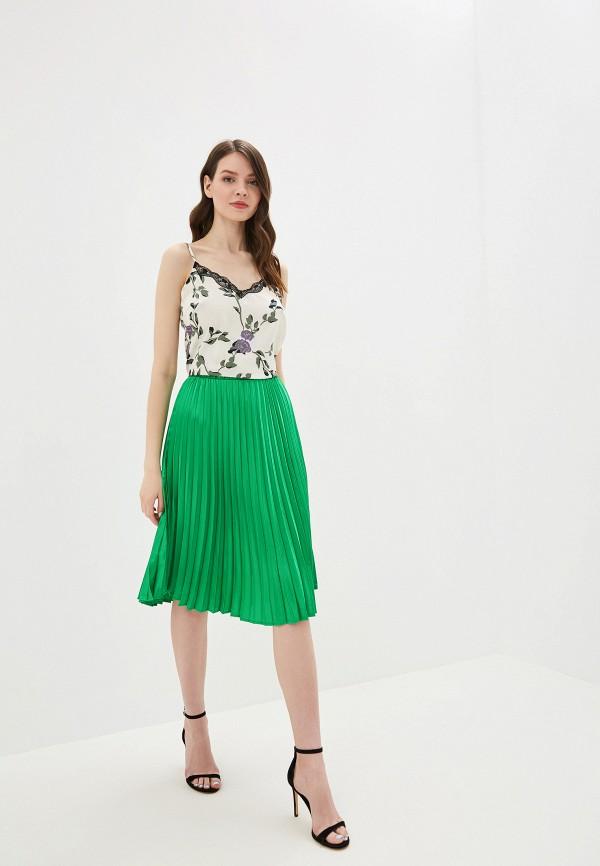 Фото 2 - женскую юбку Noisy May зеленого цвета