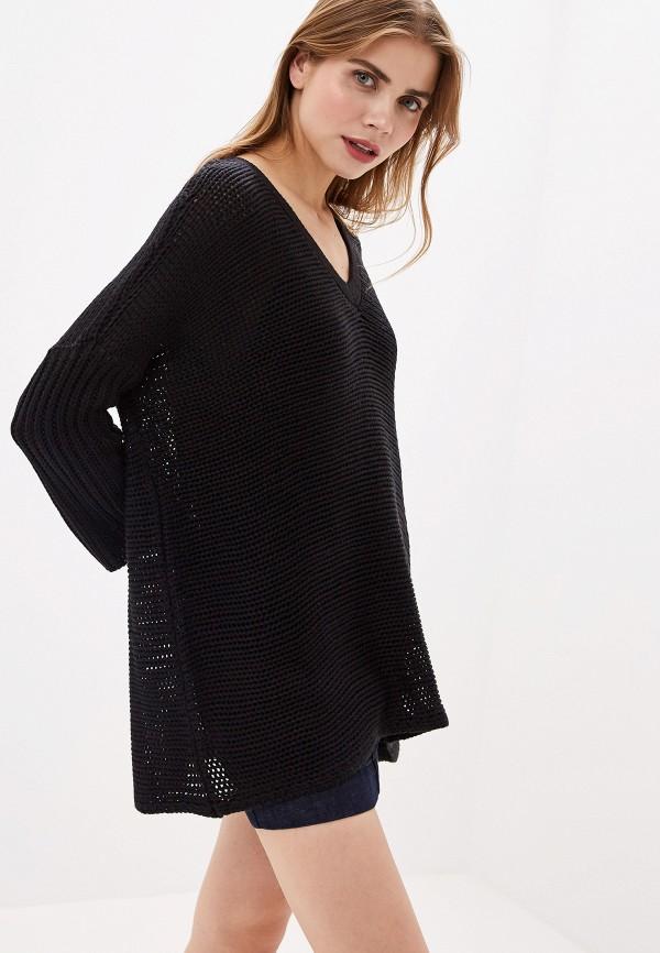 женский пуловер noisy may, черный