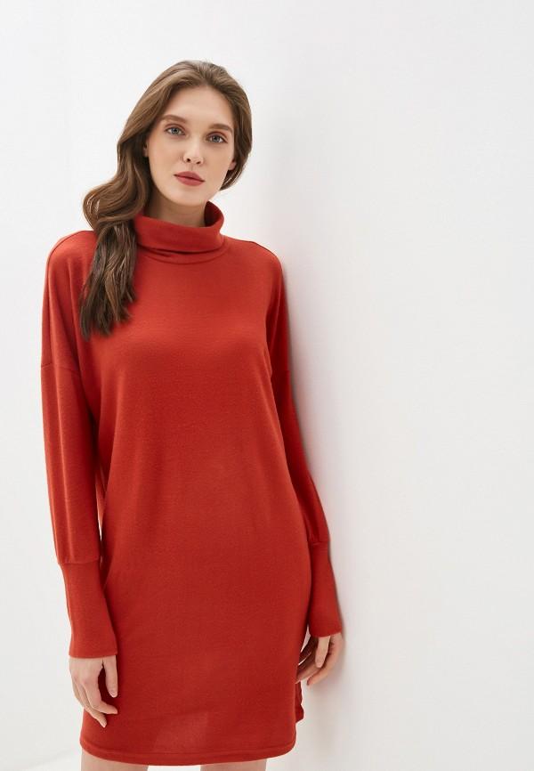 женское платье noisy may, красное