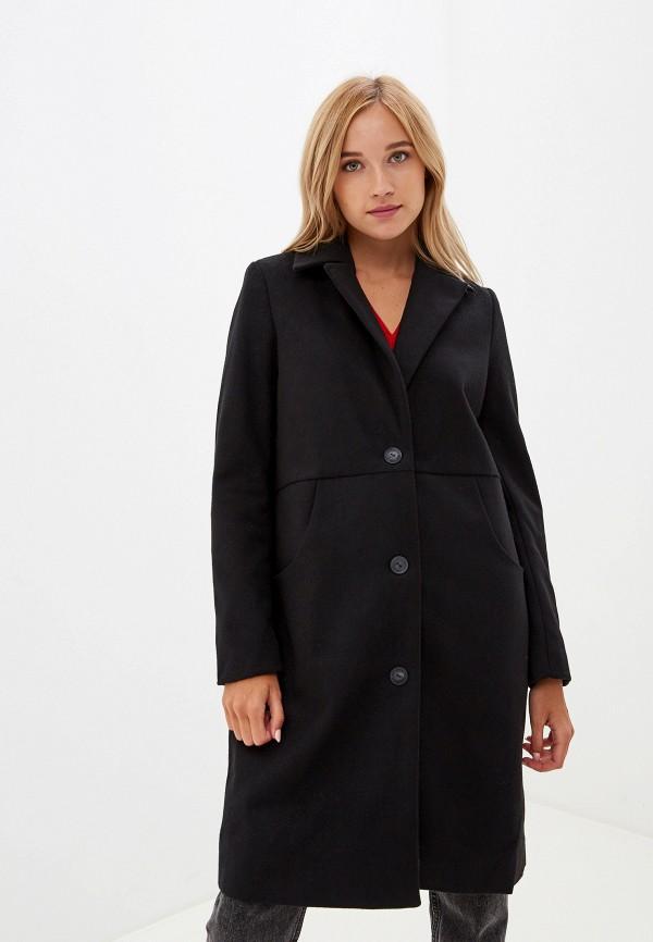 женское пальто noisy may, черное