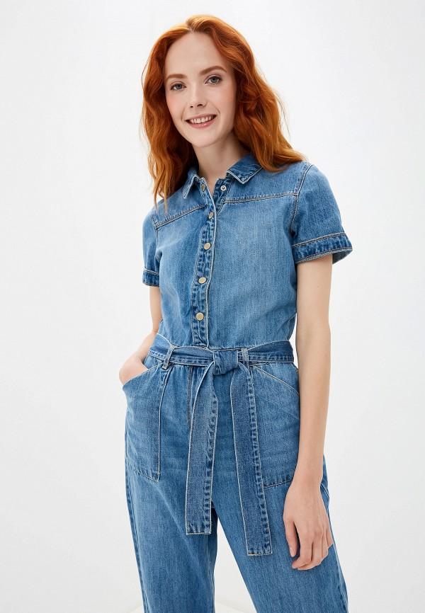 Картинки женских джинсовых комбинезонов