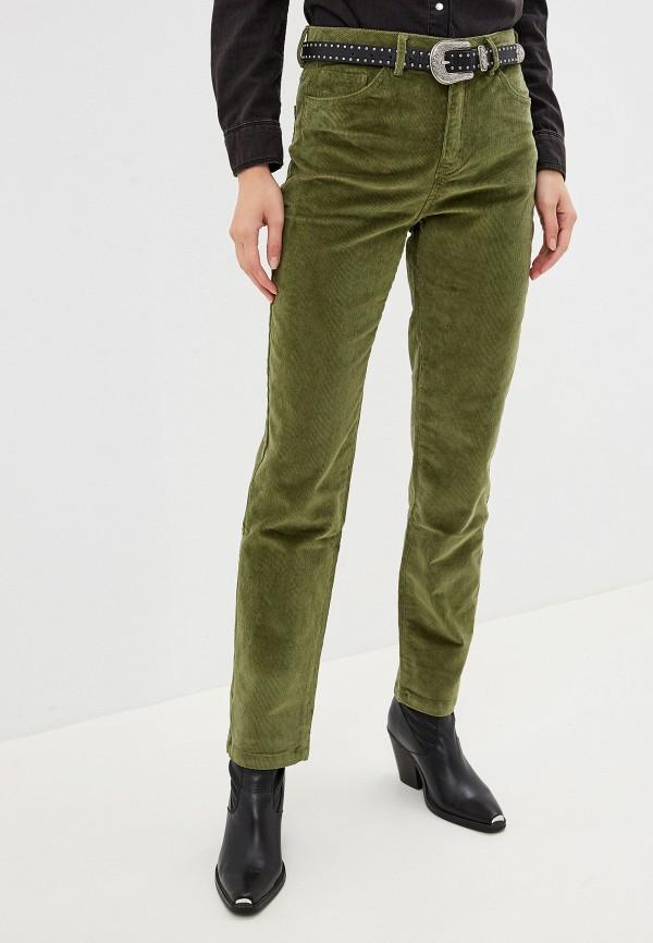 женские повседневные брюки noisy may, зеленые