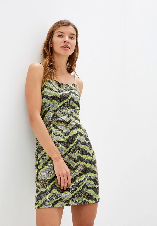 женское платье noisy may, разноцветное
