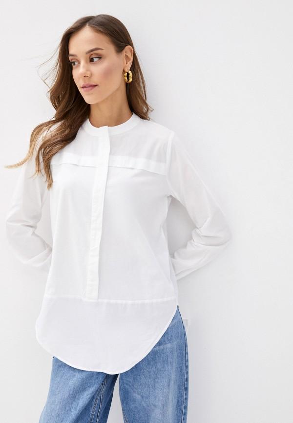 женская рубашка с длинным рукавом noisy may, белая