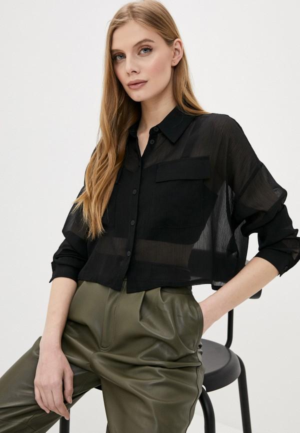 женская блузка noisy may, черная