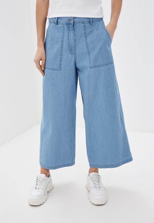 женские повседневные брюки noisy may, голубые