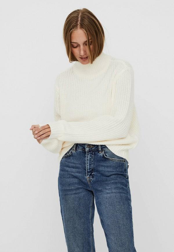 женский свитер noisy may, белый