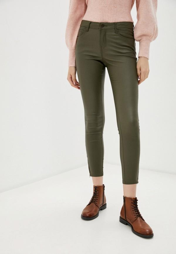 женские повседневные брюки noisy may, хаки