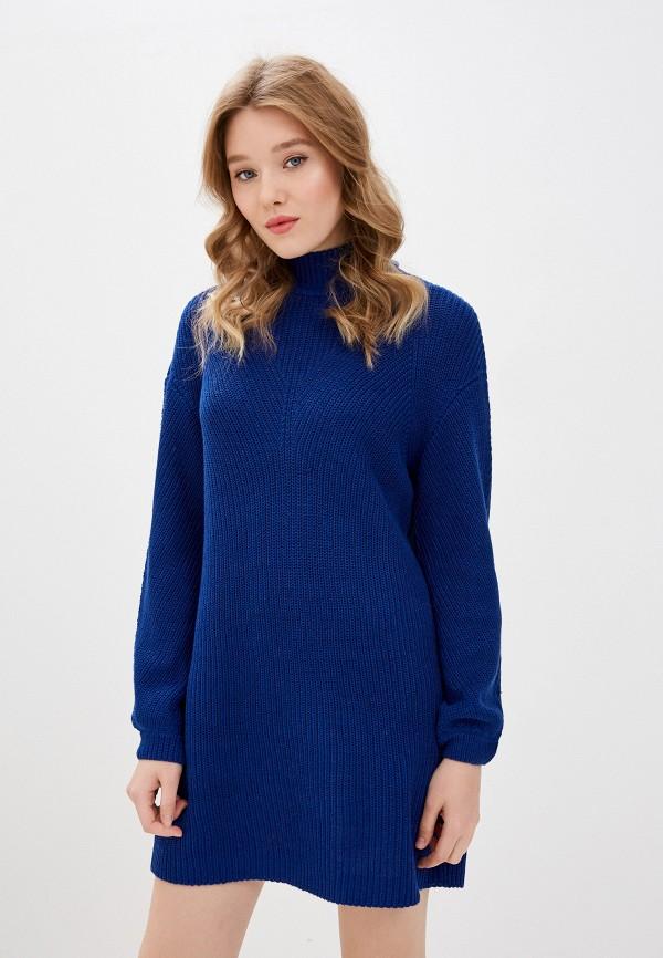 женское платье noisy may, синее