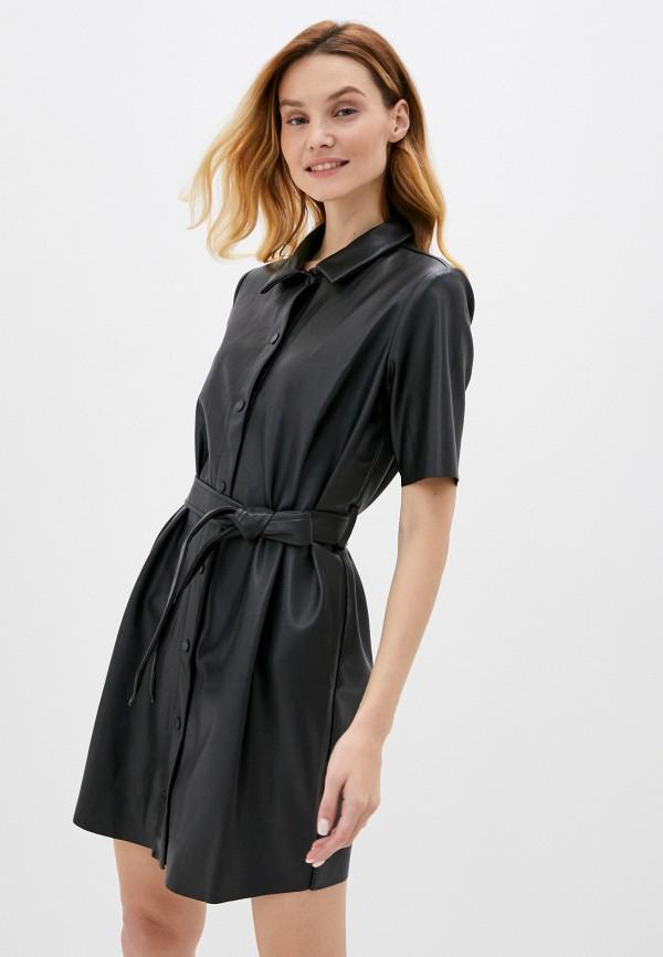 женское платье noisy may, черное