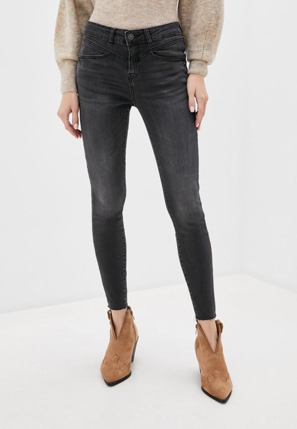 женские джинсы noisy may, серые