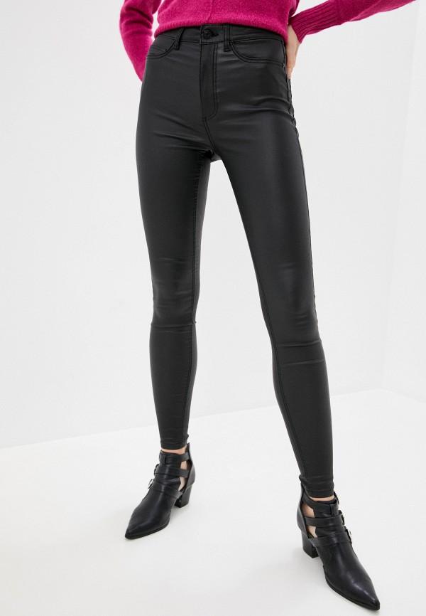 женские повседневные брюки noisy may, черные