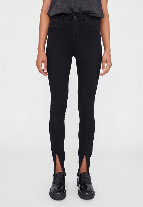 женские джинсы скинни noisy may, черные