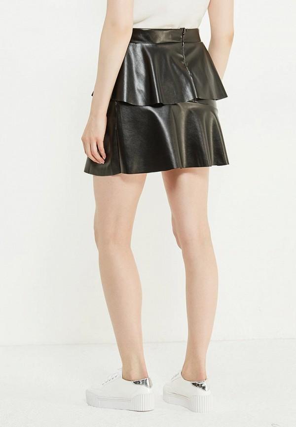 Фото 3 - женскую юбку Noisy May черного цвета