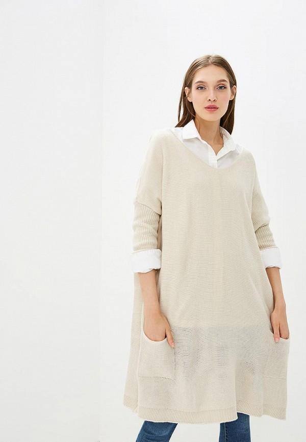 женское повседневные платье numinou, бежевое