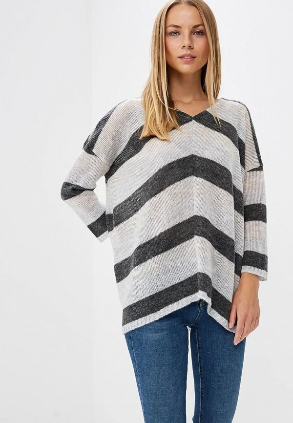 женский пуловер numinou, белый
