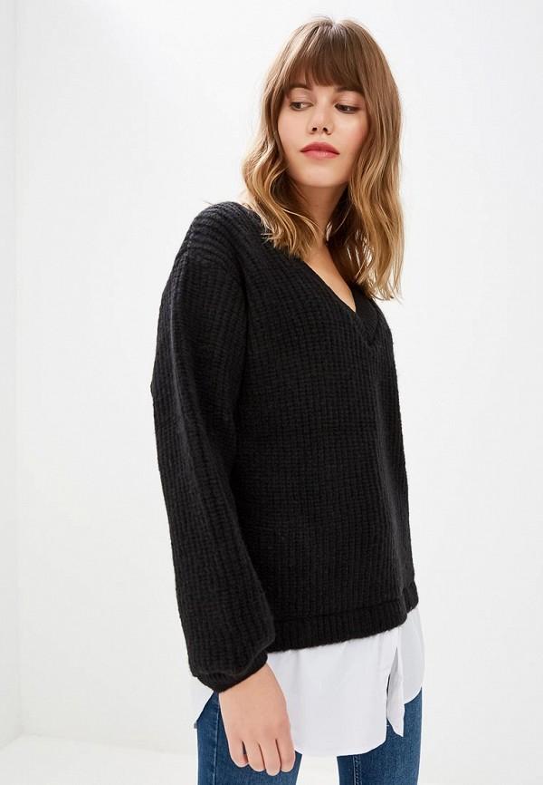 женский пуловер numinou, черный