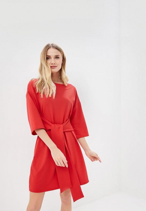 женское повседневные платье numinou, красное