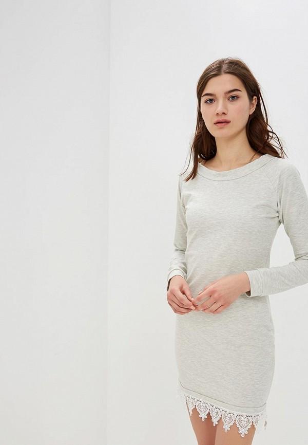 женское платье numinou, серое