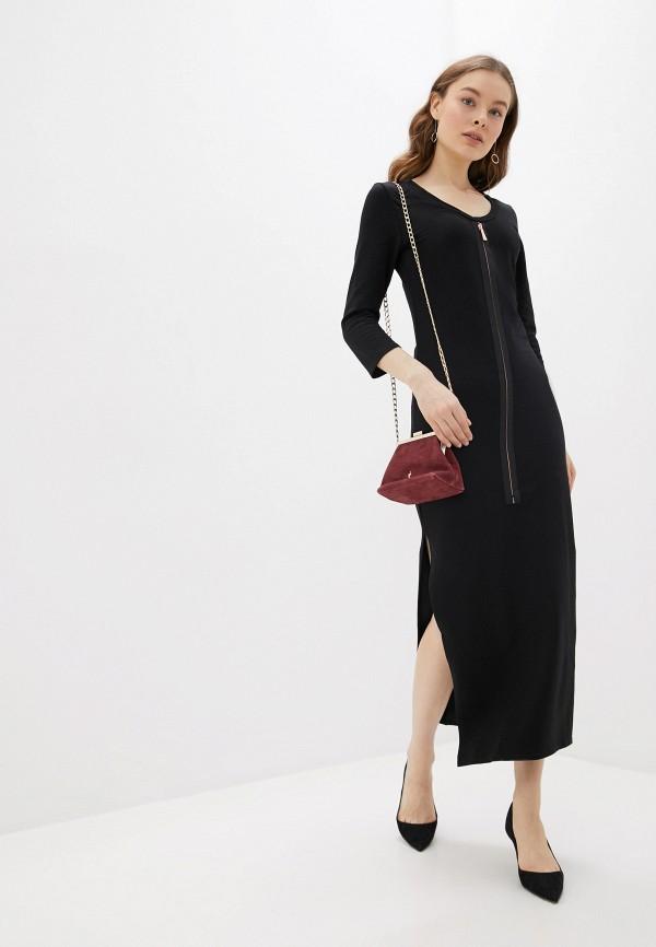 женское повседневные платье numinou, черное