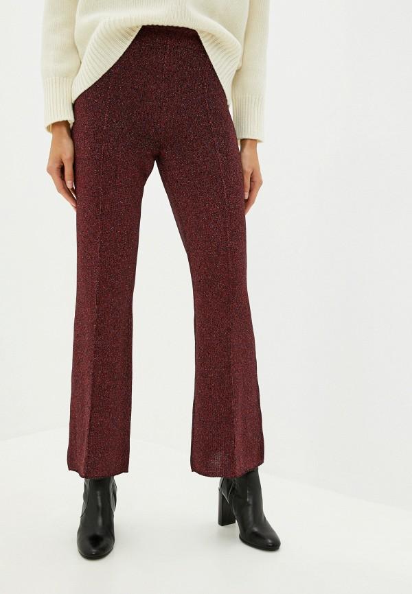 женские повседневные брюки nude, красные