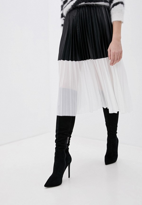 женская юбка nude, черная