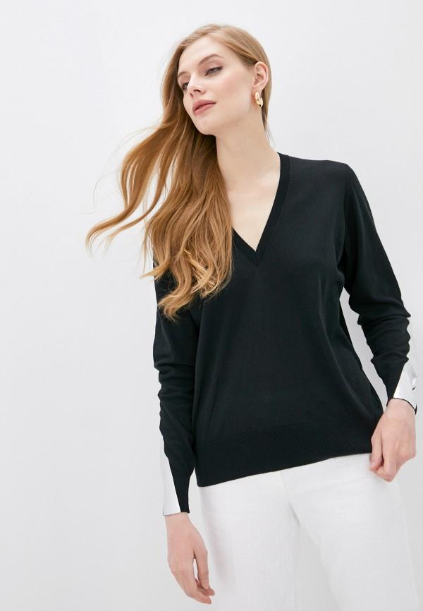 женский пуловер nude, черный