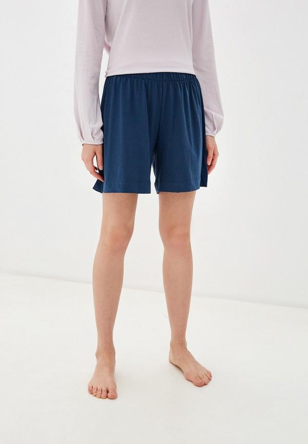 женские шорты nymos, синие