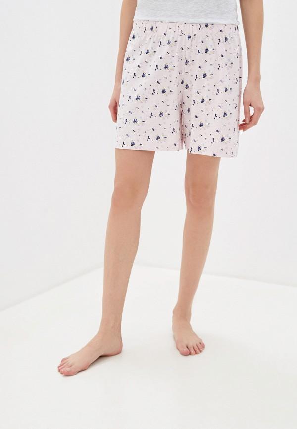женские шорты nymos, розовые