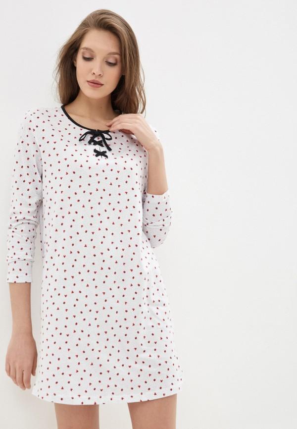 женские сорочка ночная nymos, белые