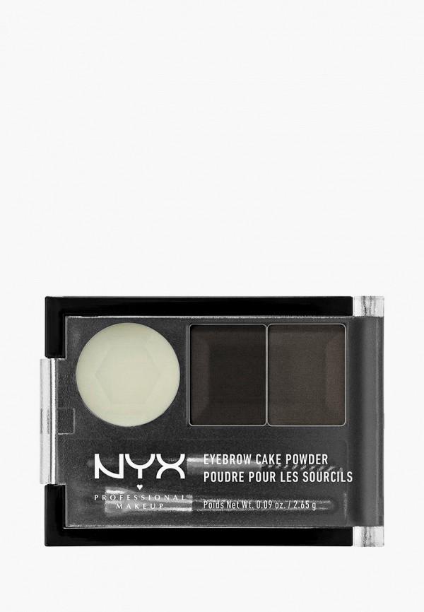 женский тени для бровей nyx professional makeup, разноцветный